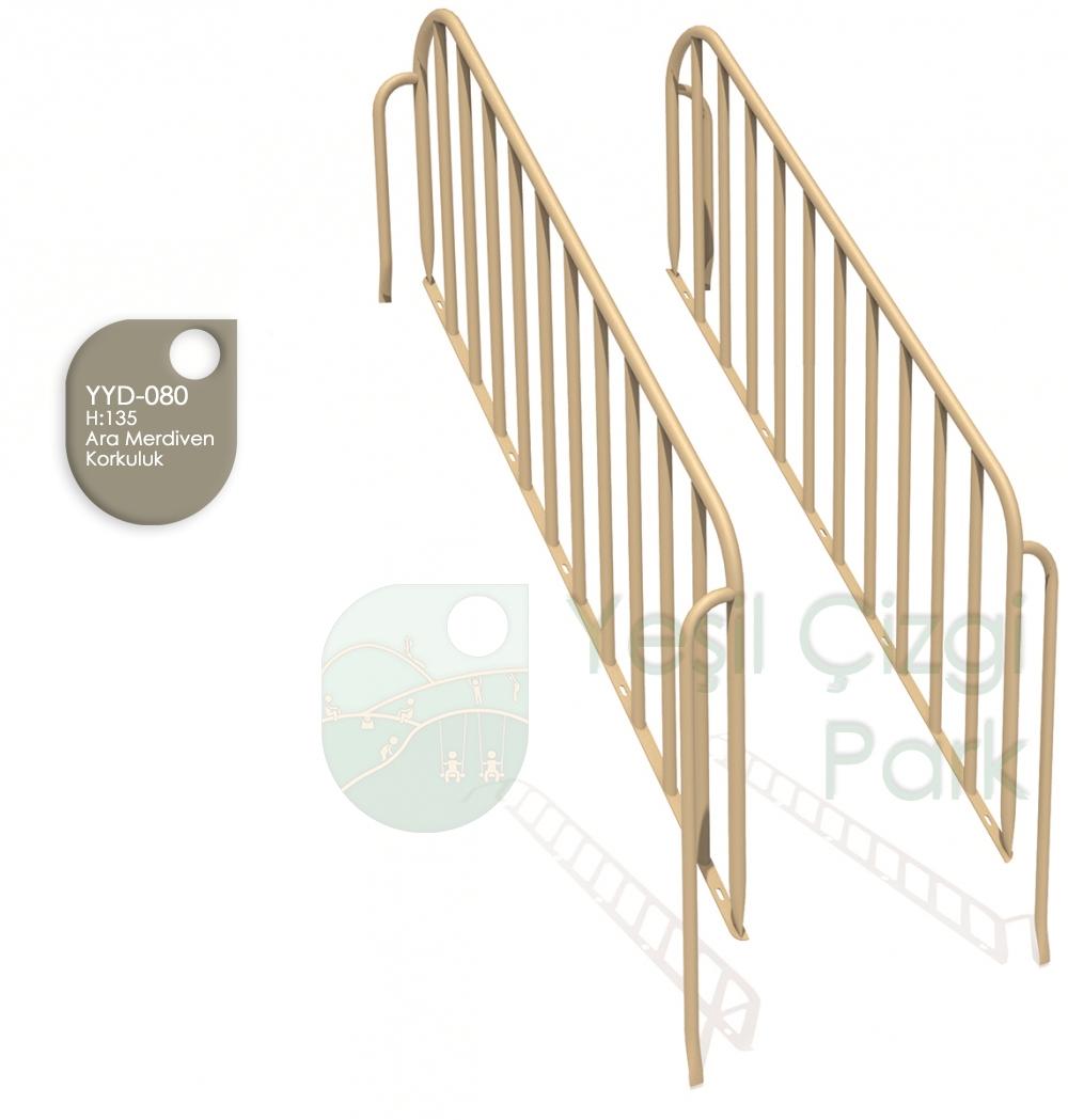 Merdiven Ara Korkuluk H 135