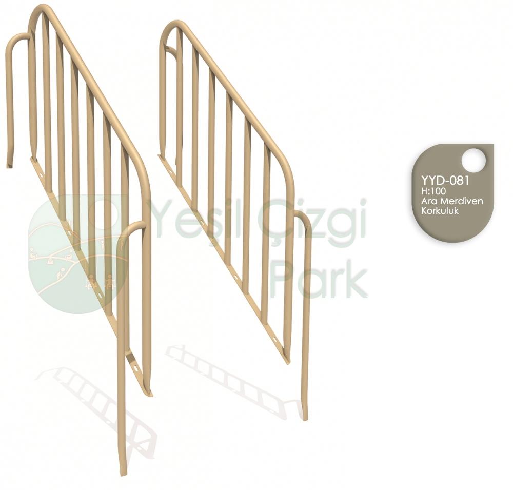 Merdiven Ara Korkuluk H100